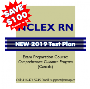NNCLEX RN 100 off New 2019 Test Plan